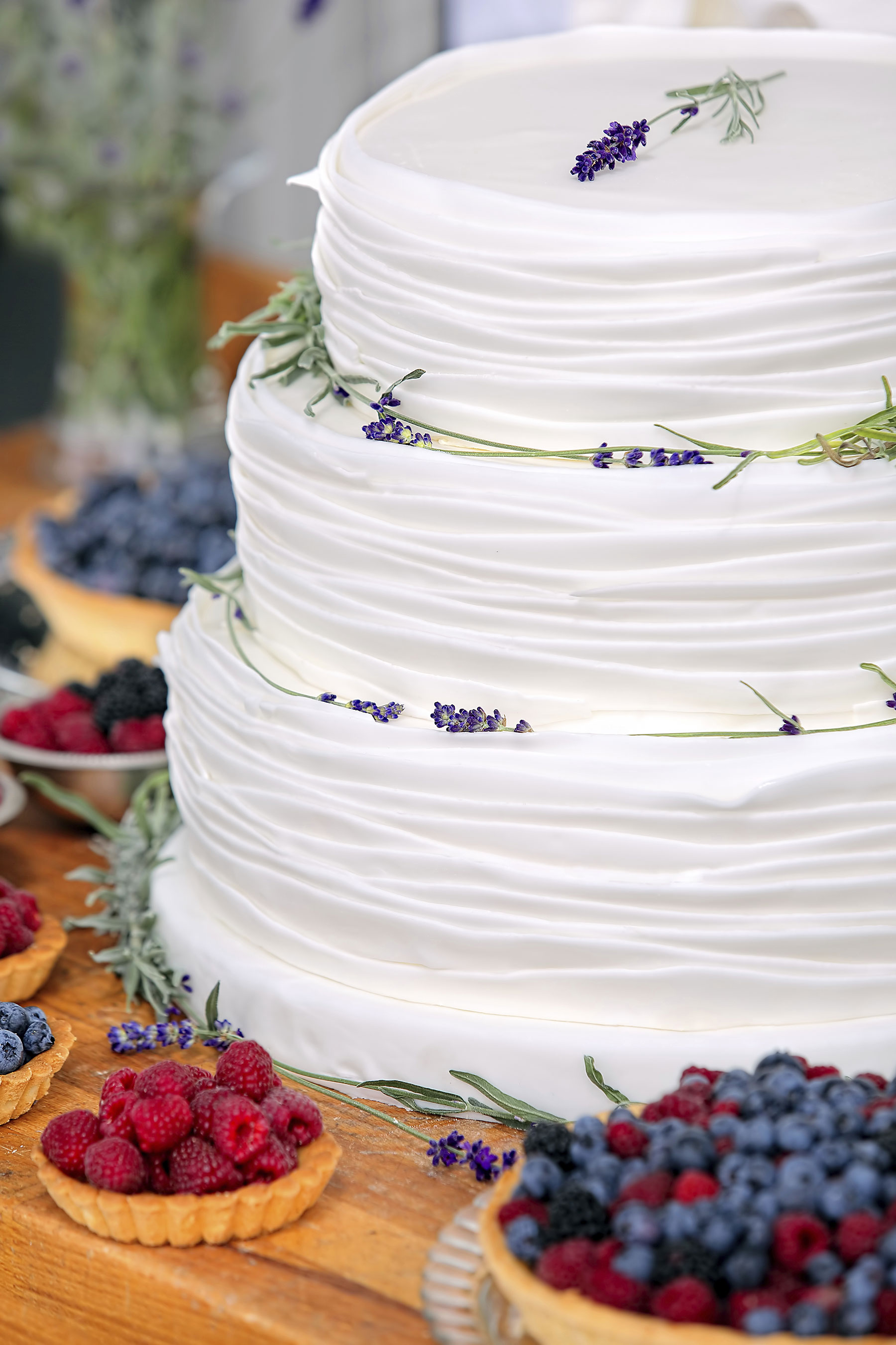 All-natural cake for a local, organic-grown food supplier